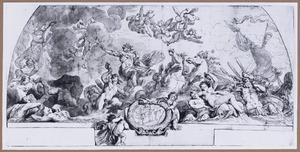 Neptunus kalmeert de golven (Aeneis I:125-143)