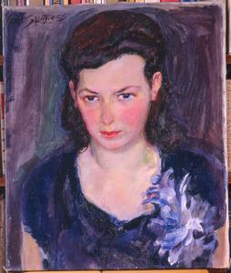 Portret van Louise Sluijters (1908-1981)