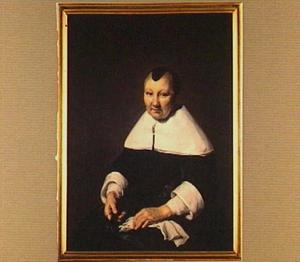 Portret van Agatha van der Horn (1603-1680)