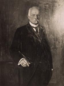 Portret van Louis Emile August Frederik van de Wall (1851-1936)