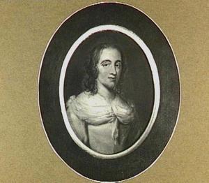 Portretminiatuur van Anna Maria Schuurman (1607-1678)