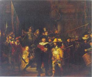 Het korporaalschap van kapitein Frans Banning Cocq en luitenant Willem van Ruytenburch