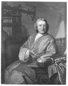 Portret van Steven Hoogendijk (1698-1788)