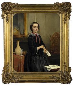 Portret van Hilligje Diephuis (1835-1912)