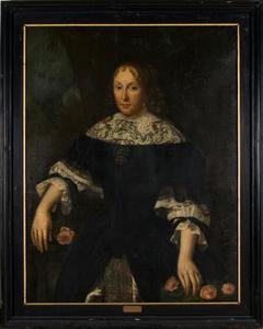 Portret van Barber Hommesdr van Camstra (1634-1696)