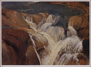 Waterval en grot bij Tivoli