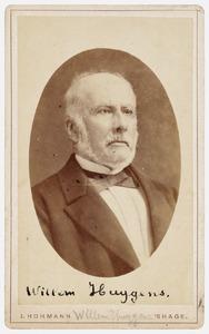 Portret van Willem Huygens (1807-1884)