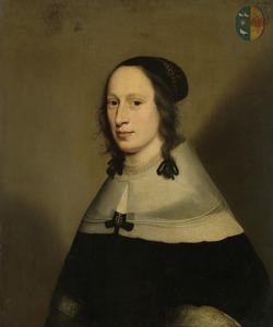 Portret van Sophia Overmeer (1608-1684)