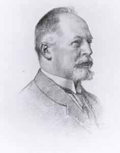 Portret van Gerlof Bartholomeus Salm (1865-1920)