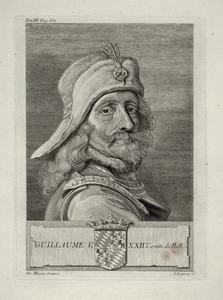Portret van Willem V van Beieren (1333-1389)