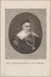 Portret van een man, ten onrechte genaamd Charles de Héraugières (1565-1610)