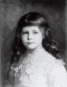 Portret van Maria Wilhelmina Constantia van Hoogstraten (1895-1979)