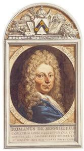 Portret van Romeyn de Hooghe (1645-1708)