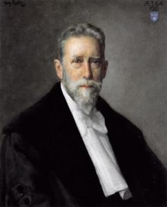 Portret van Jan Six VI (1857-1926)