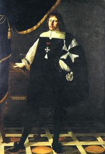 Portret van Fra Emilio Bastoni, Ridder in de Orde van Malta
