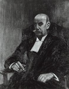 Portret van Willem Jan Henri Moll (1876-1947)
