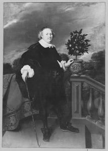 Portret van Johan Albrecht des H.R. Rijksgraaf Schellaert van Obbendorf (1619-1695)