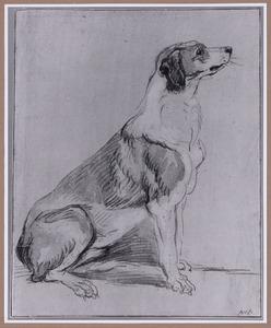 Zittende Engelse jachthond