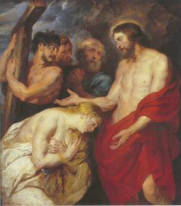 Christus en de boetevaardige zondaars