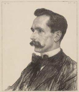 Portret van Willem Treub (1858-1931)