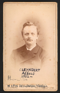 Portret van Albert Cleijndert (1852-1915)