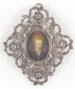 Portret van prinses Elizabeth van Brunswijk-Wolfenbüttel (1593-1650), later hertogin van Saxen-Altenberg