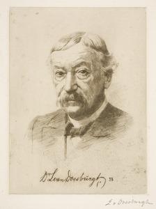 Portret van Lambertus van Doesburgh (1837-1915)