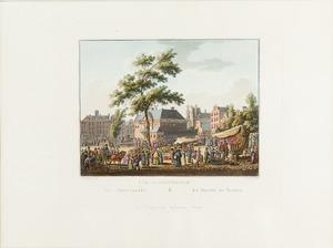 Gezicht op de Amsterdamse Botermarkt