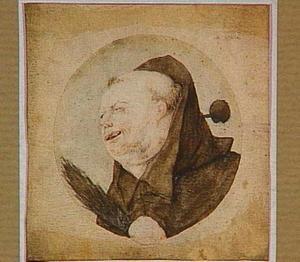 Monnik met een roede