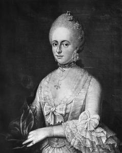 Portret van Anna Lucia Cramer van Veeren (1746-1783)