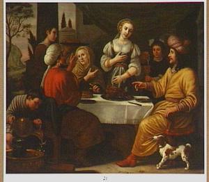 Het dingen naar de hand van Rebekka (Genesis 24:34-52)