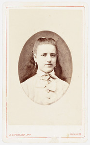 Portret van Susanna Christina Hiddingh (1859-1936)