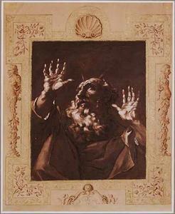 Mozes sprekend met de Heer