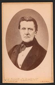 Portret van v.d. Sloot Clement