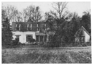 'De Groote Basselt' aan de Melkweg (nu Pastoor de Sayerweg 1) in Blaricum, waar Piet Mondriaan zijn atelier had in 1916