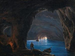 De blauwe grot, Capri