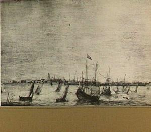 Zeilschepen bij Hoorn