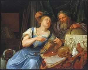Allegorie op de Kunsten