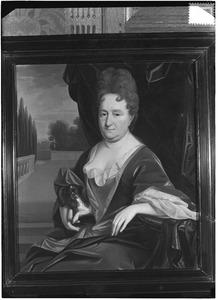 Portret van een vrouw, mogelijk Maria le Maire (1647-1721