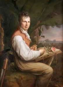 Portret van de geleerde en botanist Alexander von Humboldt (1769-1859)