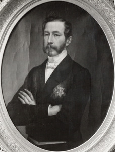Portret van Joseph Louis Heinrich Alfred Baron Gericke van Herwijnen (1814-1899)