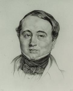 Portret van een man, genaamd Patrice Charles Guislain de Coninck (1770-1827)