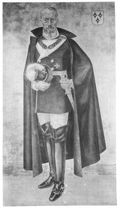 Portret van Pieter Robert Adriaan Melvill van Carnbee (1870-1924)