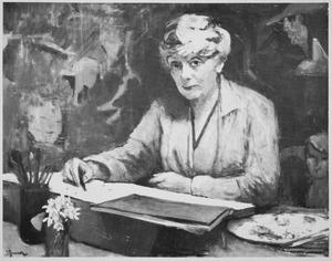 Portret van Johanna Cornelia Hermanna Bodenheim (1874-1951)