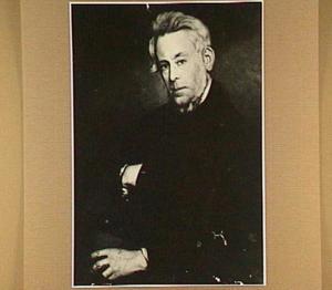 Portret van Dr. Salomon Pieter Scheltema (1801-1873), vader van de schilder, stadsgeneesheer te Arnhem