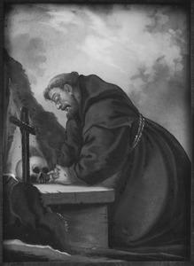 Franciscus van Assisi in gebed