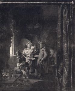 Marcus Curius Dentatus wijst de geschenken van de Samnieten af