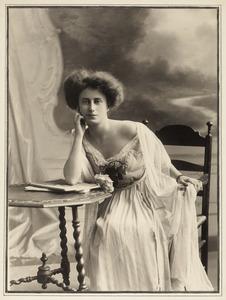 Portret van Adriana Johanna Pauw van Wieldrecht (1865-1936)
