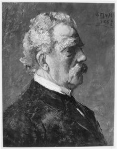 Portret van Hermanus del Campo genaamd Camp (1815-1899)