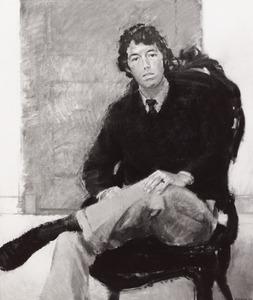 Portret van W. van Well Groeneveld